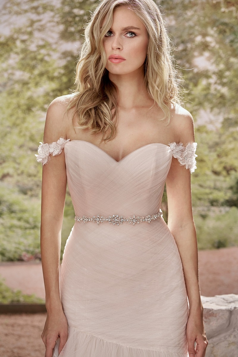 Wedding dresses with a belt