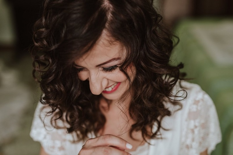 Wedding hairstyle for curly hair: all the trends