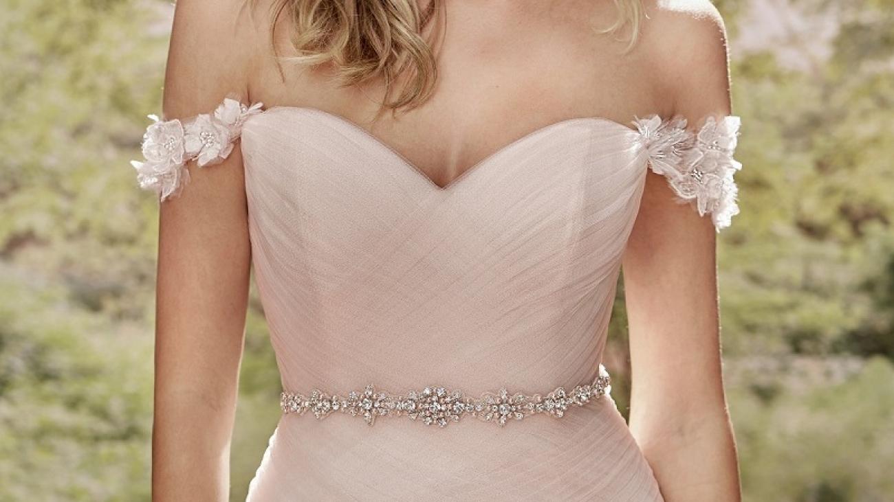 Wedding dresses with a belt