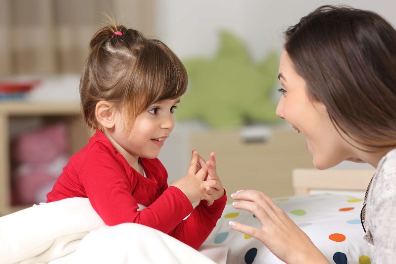 Small children, 5 ways to speak and be listened to