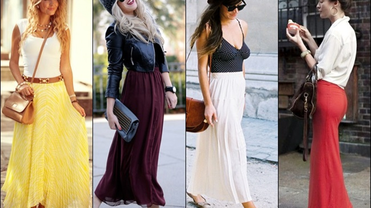 Shoes to wear with long skirts