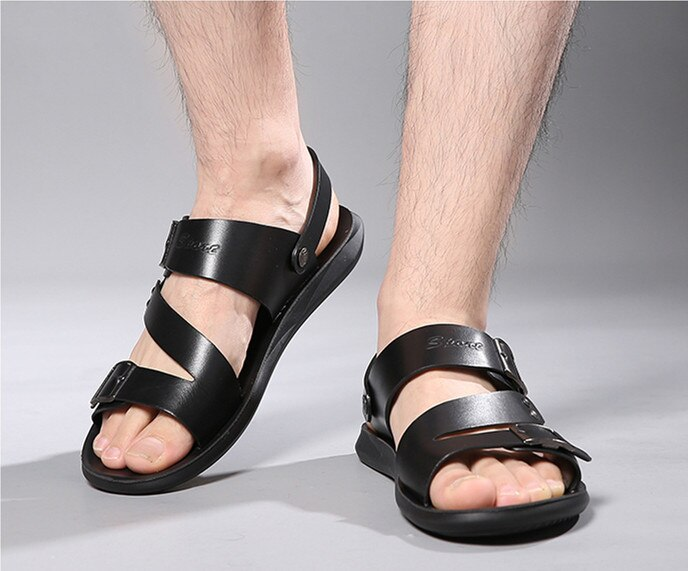 how to wear black sandals