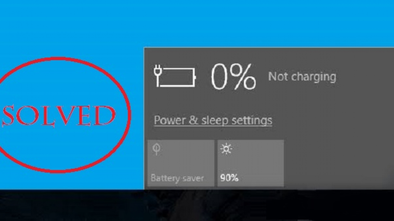 laptop battery not holding charge