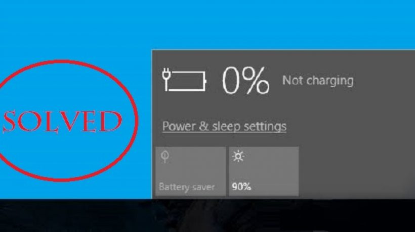 Why Laptop battery not holding charge? Solve it right now